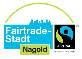 Fairtrade-Logo der Stadt Nagold