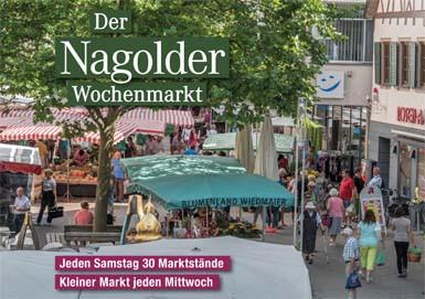 Broschüre zum Nagolder Wochenenmarkt