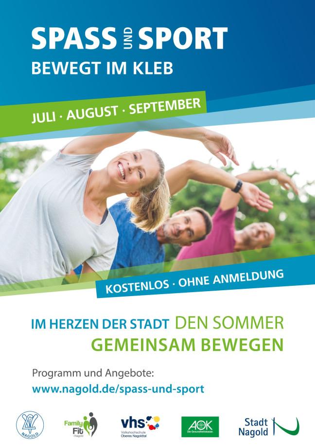 Spass und Sport - Plakat 2019