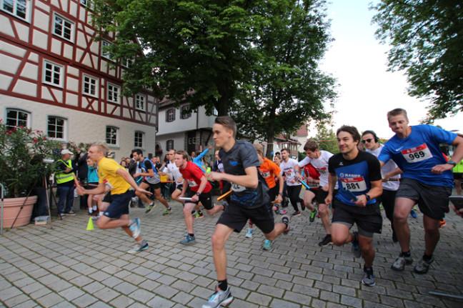Teilnehmer des Mittsommer Laufs (Foto: Stadt)