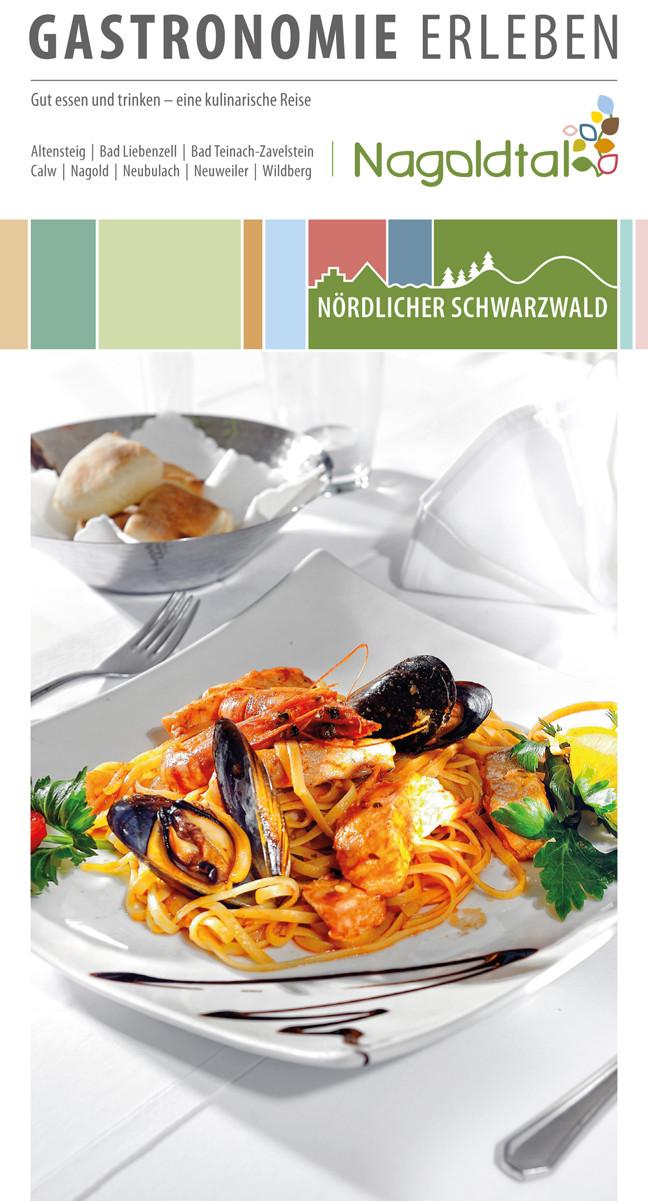 Der neue Gastronomieführer für das Obere Nagoldtal ist ab sofort unter anderem im Rathaus erhältlich. (Foto: Stadt)