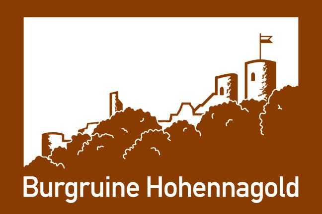 Autobahnschild Burg