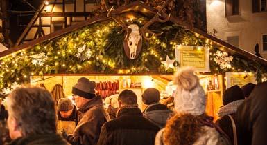 Tolle Atmosphäre auf dem Weihnachtsmarkt