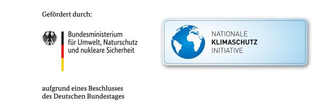 Förderlogo Initiative Klimaschutz
