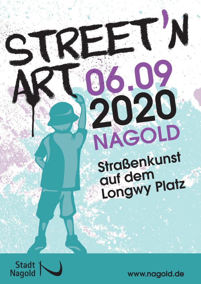 Veranstaltungsplakat Street`N Art_06.09.2020
