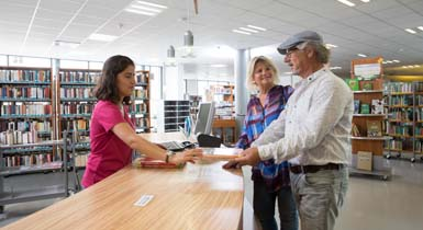 Stadtbibliothek Medienausleihe