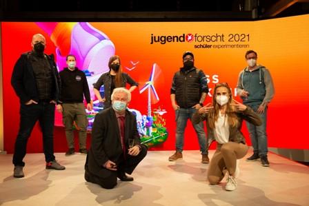Jugend forscht 2021_Team Teufelwerk