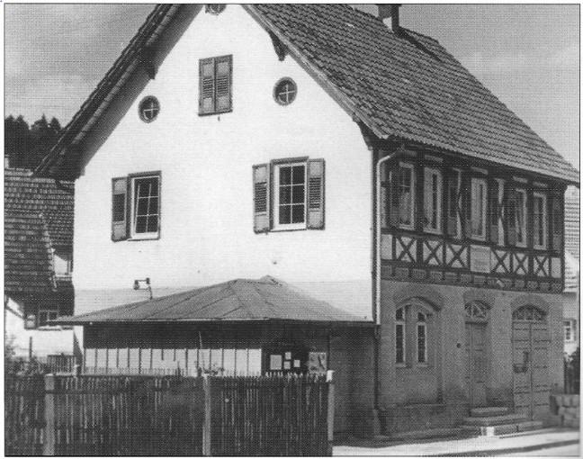 Rathaus Iselshausen alt