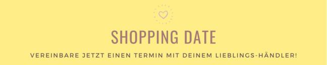 Shopping Date Banner