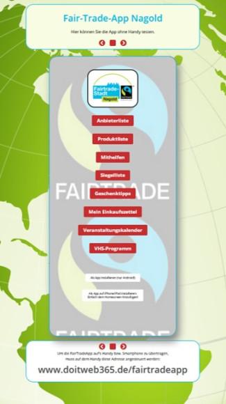 Startbild Fairer Einkaufsführer Web App
