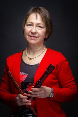 Susanne Kalmbach, Lehrkraft für Blockflöten-AGs