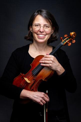 Antje Ruf, Lehrkraft für Violine und Viola