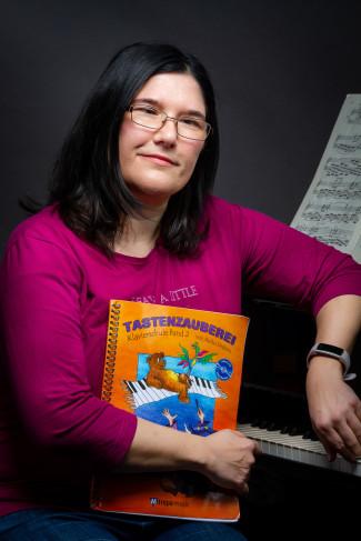 Stefanie Höfner, Lehrkraft für Klavier