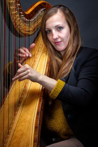 Agnes Märker, Lehrkraft für Harfe