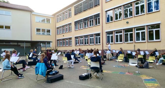 Orchesterprobe NKO